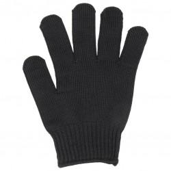 Filetierhandschuhe schwarz